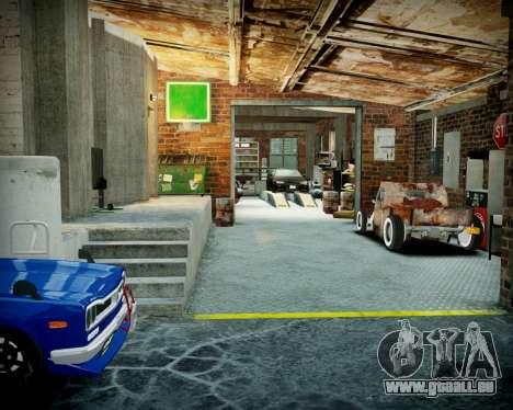 Garage avec de nouveaux intérieur Alcaline pour GTA 4 neuvième écran