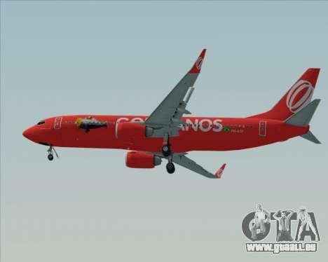 Boeing 737-800 Gol Transportes Aéreos für GTA San Andreas Innenansicht