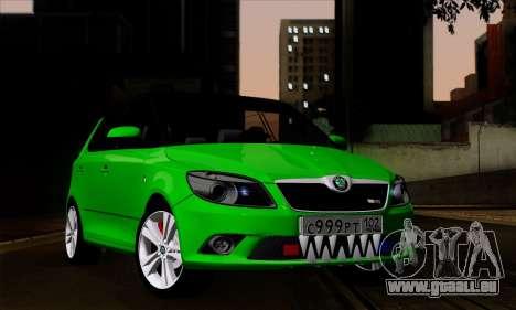 Skoda Fabia RS für GTA San Andreas