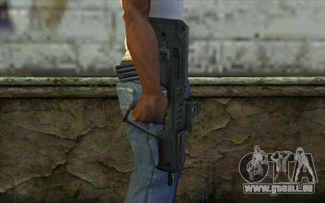 TAR-21 Bump Mapping v4 für GTA San Andreas dritten Screenshot