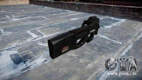 Gun Fabrique Nationale P90 für GTA 4 Sekunden Bildschirm