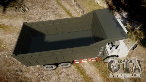 HOWO Truck für GTA 4 rechte Ansicht