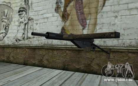 Sten from Day of Defeat pour GTA San Andreas
