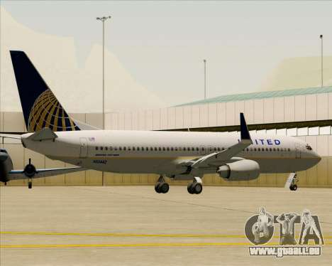 Boeing 737-824 United Airlines für GTA San Andreas