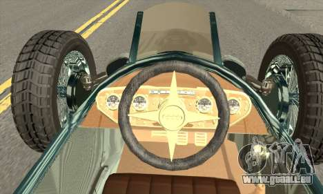 Audi Type C 1936 Race Car für GTA San Andreas zurück linke Ansicht