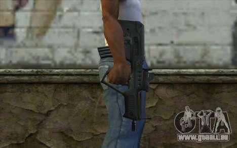 TAR-21 Bump Mapping v3 für GTA San Andreas dritten Screenshot