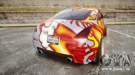 Nissan 350Z EmreAKIN Edition für GTA 4 hinten links Ansicht