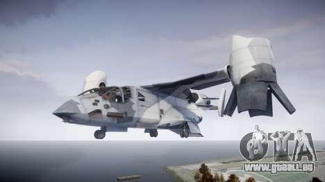 VTOL Warship PJ3 pour GTA 4