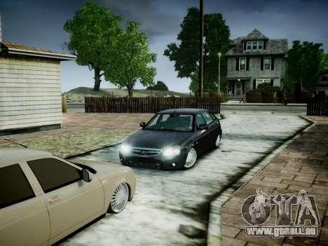 VAZ 2172 pour GTA 4 Vue arrière