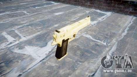 Пистолет Desert Eagle Gold PointBlank für GTA 4 Sekunden Bildschirm