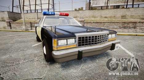 Ford LTD Crown Victoria 1987 LAPD [ELS] pour GTA 4