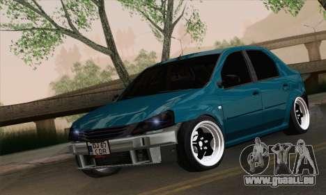 Dacia Logan 1.6 DJ für GTA San Andreas