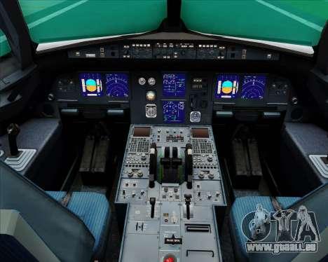 Airbus A321-200 Turkish Airlines für GTA San Andreas Innen