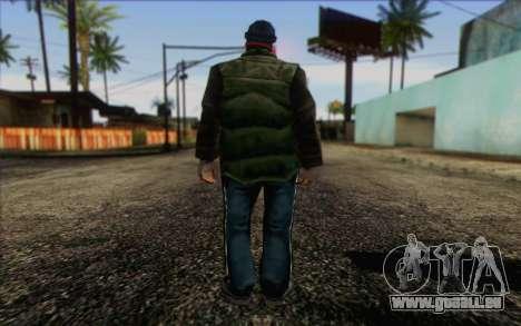 Vagabonds Skin 1 pour GTA San Andreas deuxième écran