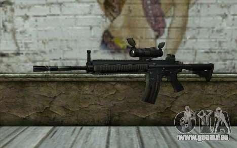 HK416 (Bump mapping) v1 für GTA San Andreas