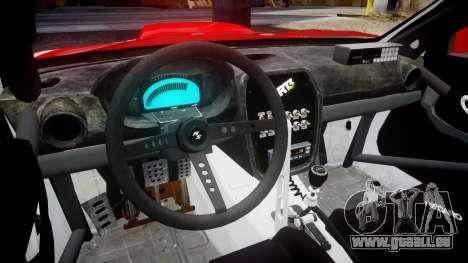 Subaru Impreza WRX STI Street Racer pour GTA 4 Vue arrière