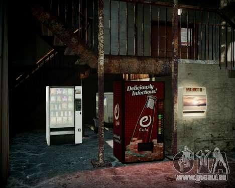 Garage avec de nouveaux intérieur Alcaline pour GTA 4 septième écran