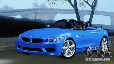 BMW Z4 sDrive28i 2012 Stock pour GTA San Andreas