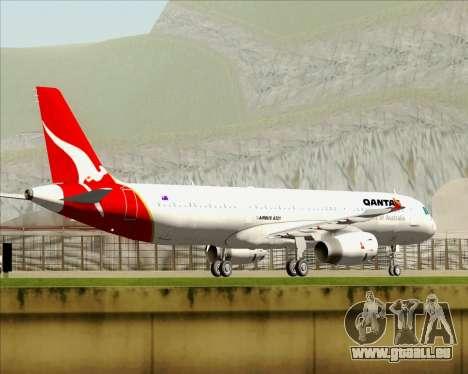 Airbus A321-200 Qantas für GTA San Andreas Motor