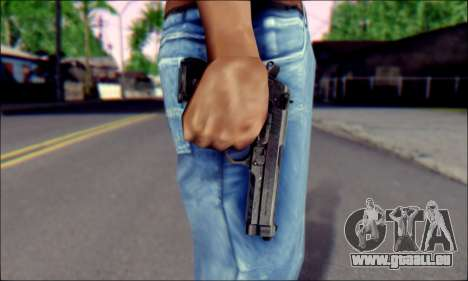 Beretta M92F für GTA San Andreas dritten Screenshot