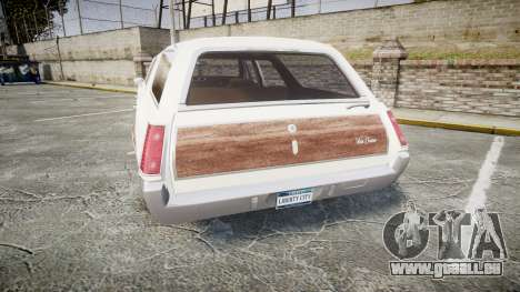 Oldsmobile Vista Cruiser 1972 Rims1 Tree3 für GTA 4 hinten links Ansicht