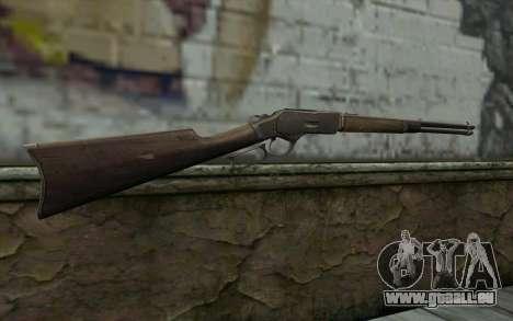 Winchester 1873 v4 pour GTA San Andreas deuxième écran