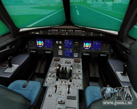 Airbus A321-200 Qantas für GTA San Andreas Innen