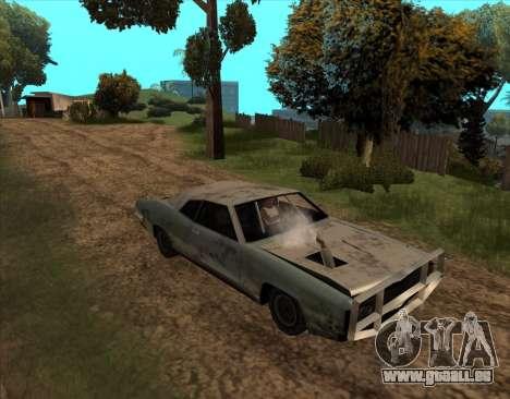 Post-Apocalyptique Boucanier pour GTA San Andreas vue de droite