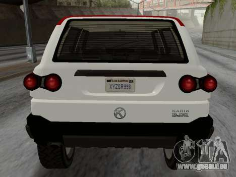 Karin BJ XL pour GTA San Andreas vue de droite