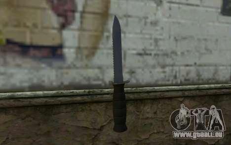 Couteau de Combat (DayZ Standalone) v2 pour GTA San Andreas deuxième écran