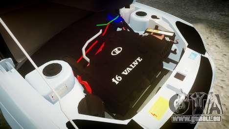 VAZ-2170 Priora lecteurs pour GTA 4 est une vue de l'intérieur