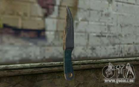 Knife from Metro 2033 für GTA San Andreas zweiten Screenshot