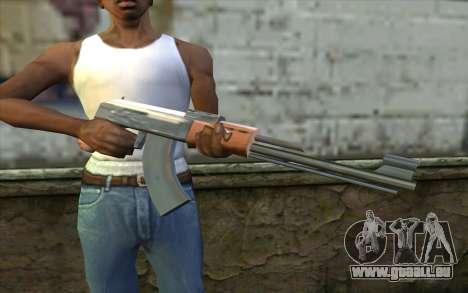 AK47 from Beta Version für GTA San Andreas dritten Screenshot