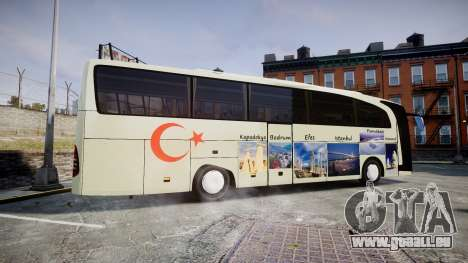 Mercedes-Benz Travego Turkey für GTA 4 linke Ansicht