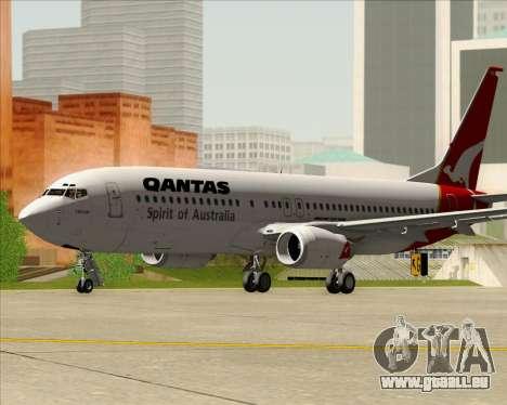 Boeing 737-838 Qantas (Old Colors) pour GTA San Andreas laissé vue