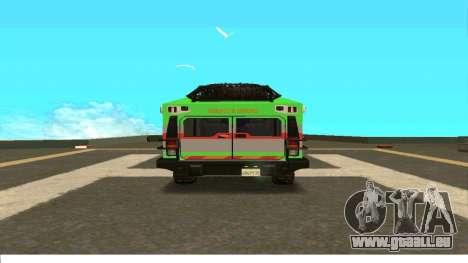 Hummer H2 Ratchet Transformers 4 pour GTA San Andreas vue de droite