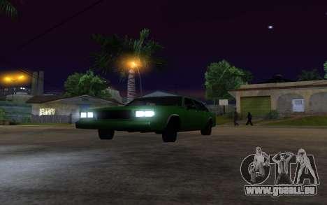 Tahoma Restyle pour GTA San Andreas vue de droite