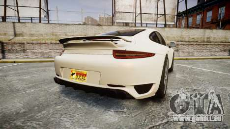 Ruf RGT-8 pour GTA 4 Vue arrière de la gauche