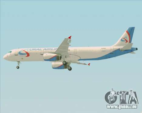 Airbus A321-200 Ural Airlines pour GTA San Andreas