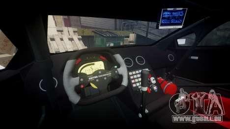 Lamborghini Murcielago GT1 Hanayo Koizumi pour GTA 4 Vue arrière