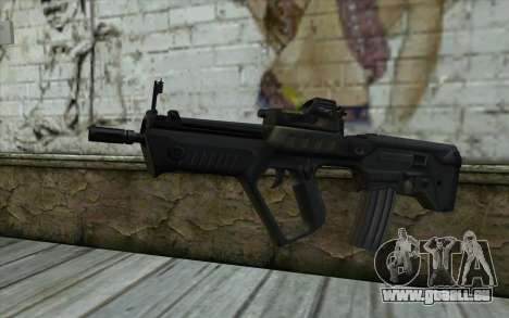 TAR-21 Bump Mapping v4 pour GTA San Andreas