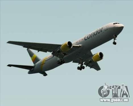 Boeing 767-330ER Condor für GTA San Andreas rechten Ansicht