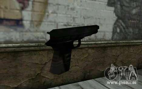 Pistol from Cutscene pour GTA San Andreas deuxième écran