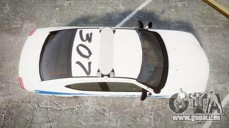 Dodge Charger 2010 PS Police [ELS] pour GTA 4 est un droit