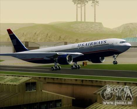 Airbus A330-200 US Airways pour GTA San Andreas