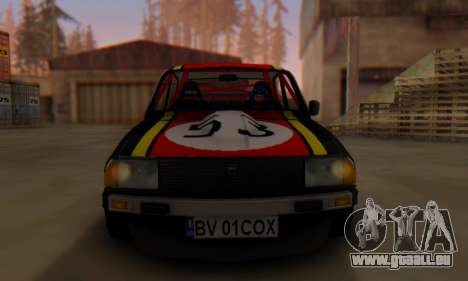 Dacia 1410 Sport pour GTA San Andreas sur la vue arrière gauche