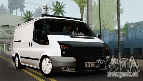 Ford Transit ACERMANS RC pour GTA San Andreas