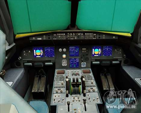 Airbus A321-200 pour GTA San Andreas salon