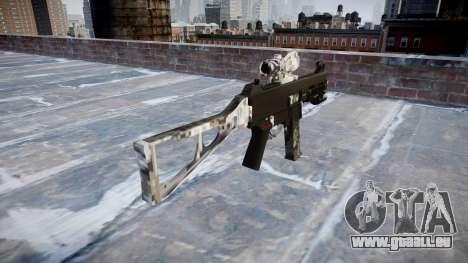 Gun UMP45 Ghotex für GTA 4 Sekunden Bildschirm