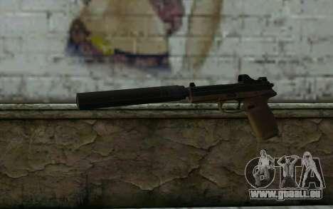 FN FNP-45 Avec Silencieux de la Vue et de pour GTA San Andreas